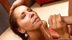Huge spraying facials
