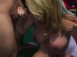 Two cocks jpg - Cuckold watching the wife suck two cocks
