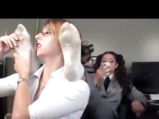 Lesbians who like men The secretary slut who likes to worship boss soles