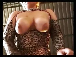 Oilked boobs fucked - German blonde bbw with big boobs fucked on a pick-up