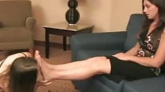 Female Domination and Foot Worship