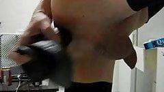 close up dildo play