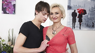 Mother and step son open the world of taboo sex