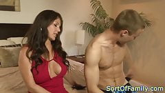 Busty motherinlaw sixtynines younger guy