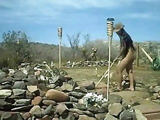Diversity of the nude american female Nude female farm worker outdoor