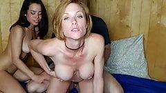 Webcam, trio avec webcam