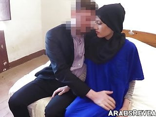 Gay porn extra big fat dicks - Hijab wearing beauty fucks a huge dick for extra cash