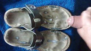 Cum on sandals shoes