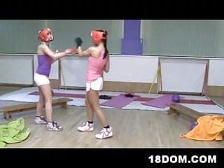 Bdsm tied head box - A boxing referee gets beaten, undressed and fucked
