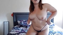Naughtiest curvy busty gal with big boobs