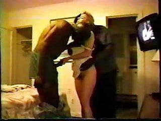 White top black bottom - Blonde white wife with black guys - homemade interracial cuckold