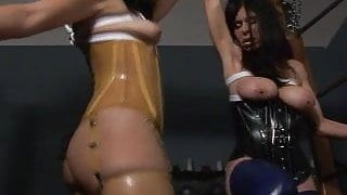 Bound Together with January Seraph and Ashley Renee Latex