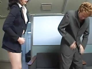 Secretary boss handjob Asian secretary rides her boss dick in his office