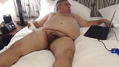 Daddy Ted2k cums on cam 25 02 2019