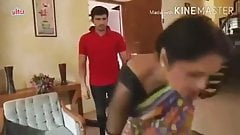 18 Years Hot & Sexy Indian Aunty &Girl Fucking With Rich Boy