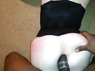 Women taking dildos in their ass Very tight ass take bbc