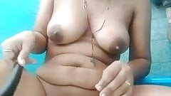 Indian young girl musterbation and cum out