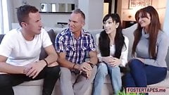 Couple joined a nice foursome action and they liked it