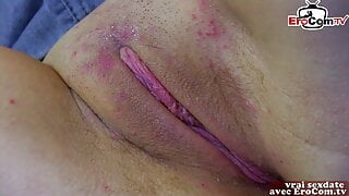 French girl next door try amateur casting