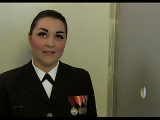 Gay navy desktops Navy girl morena gets double facial at gloryhole