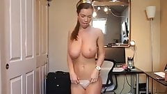 Hot woman with sexy tits