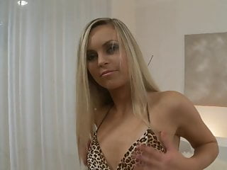 Cunt licked by dog Hot blonde sabrina gets her cunt licked before fuck session
