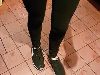 Fucking in her socks Canadian waitress who sold me her socks for 50bucks