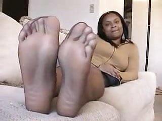 Black feet of gay men She shows her black feet