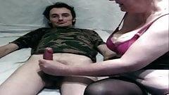 Je fais ejaculer David