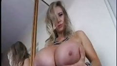 Busty Blonde with beautiful tits