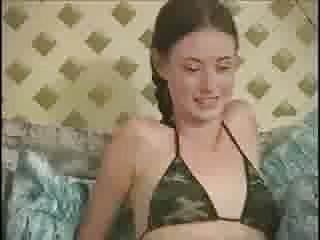 Tiny slut vids - Vanessa-19, bushy, cute, tiny tits-fucks anybody see vid