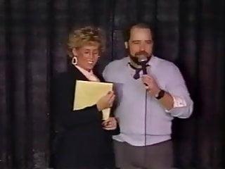 Strip stage nude Blonde teacher strips on stage