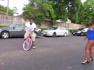 Naked girls dirt bike - Big butt ebony girl on bike