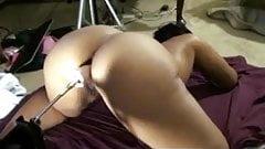 Phat booty redbone gettin fucked by sex machine.