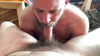 Horny Stepdad and the Hairy Cub