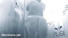Stepmom In Shower