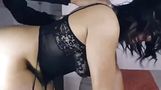 Rough and long doggystyle pounding