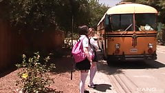 Faye Reagan - School bus girl