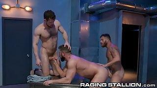 RagingStallion - Kurtis Wolfe's Ass Saves His Life