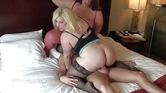 Lucky guy gets to fuck two superb busty BBWs
