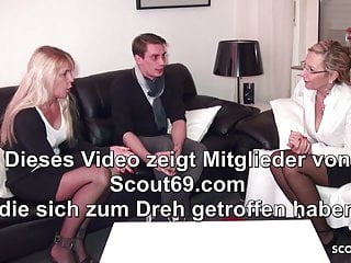 Better sex videos clips German mature teach real couple in threesome for better sex