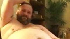 sexy bear masturbating