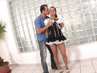 Professional mini facial steamer Cute whore in mini skirt gets gang banged and creamed