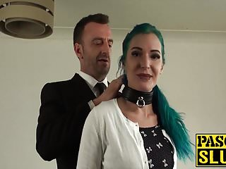 Makenzee pierce facial - Pierced anal young slut gets her tight ringpiece ruined