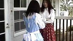 Japanese Mom spanks