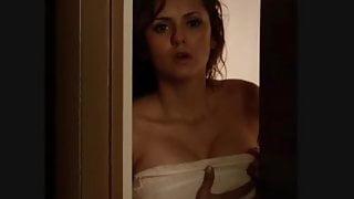 Nina dobrev flashing boobs