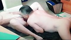 Wife cums in my mouth on hidden cam  a video