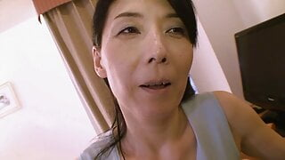 Japanese Milf With Giant Nipples (Episode #04)