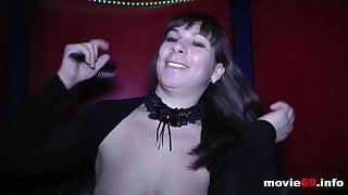 Backstage - Farah Slut is preparing herself for a gangbang
