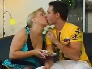 Mature foreign porn Older foreign lady gets fucked at tea time
